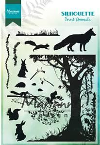 Bilde av Marianne Design - CS1021 - Clearstamp - Silhouette Forest Animal