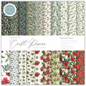 Bilde av Craft Consortium - 6x6 - Essential Paper Pad - Festive Flora