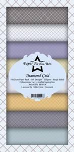 Bilde av Paper Favourites - SlimLine Paper Pad - PFS014 - Diamond Grid