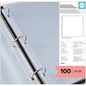 Bilde av We R - 12x12 Ring Page Protectors - Full Page - 100 pk
