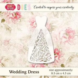 Bilde av Craft & You - Dies - CW021 - Wedding Dress