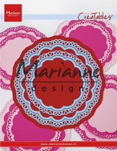 Bilde av Marianne Design - Creatables - LR0592 - Doily duo