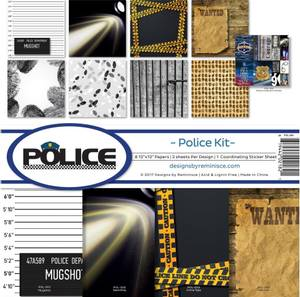 Bilde av Reminisce - 12x12 Collection Kit - RPOL200 - Police
