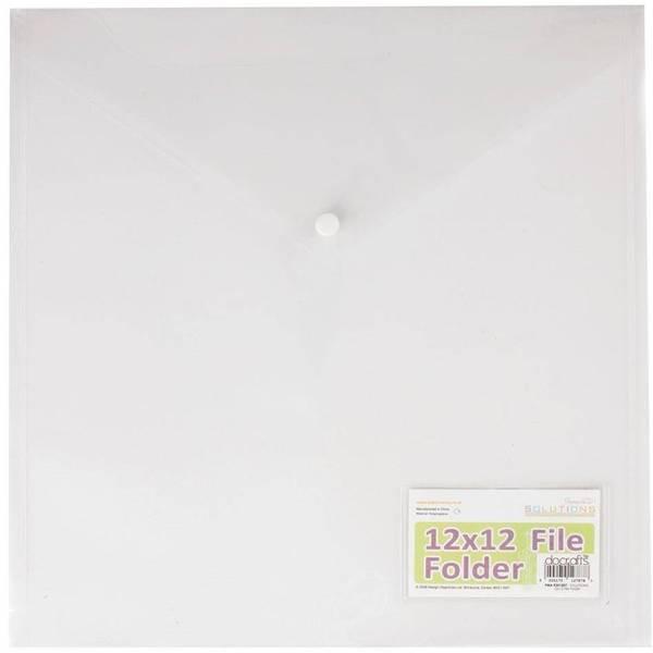 Papermania - 12x12 Inch File Folder