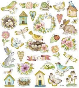 Bilde av Creotime - Stickers - 29066 - Vår og påske