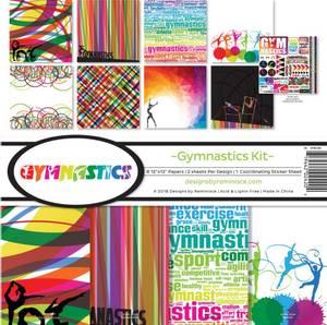 Bilde av Reminisce - 12x12 Collection Kit - GYM200 - Gymnastics