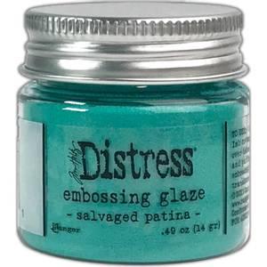 Bilde av Tim Holtz - Distress Embossing Glaze - Salvaged Patina