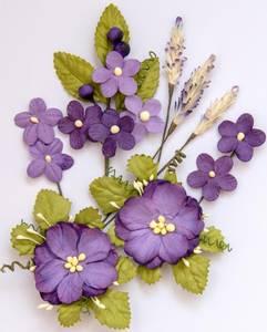 Bilde av 49 and Market - Wildflowers - Violet