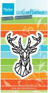 Bilde av Marianne Design - Craftables dies - CR1445 - Geomatric deer