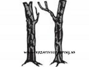 Bilde av Marianne Design - Craftables dies - CR1338 - TINYS TREES OAK