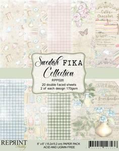 Bilde av Reprint - 6x6 - RPP026 - Swedish Fika Collection Pack