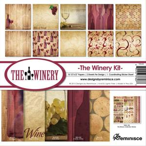 Bilde av Reminisce - 12x12 Collection Kit - TWIN200 - Winery