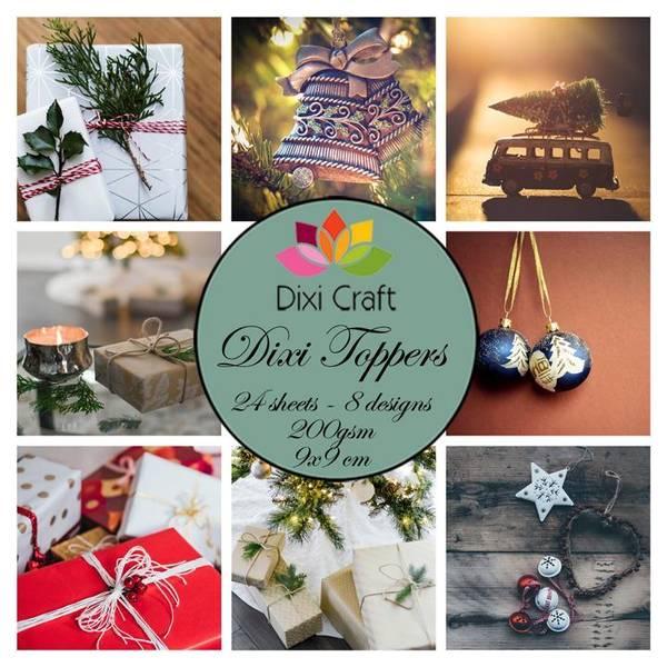 Dixi Craft - Dixi toppers - ETL040 - Christmas