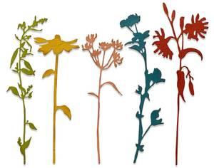 Bilde av Sizzix - Thinlits - 665221 - Wildflower Stems #3