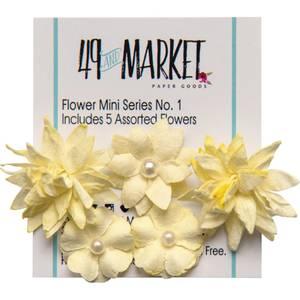 Bilde av 49 and Market - Flower Mini Series 01 - Cream