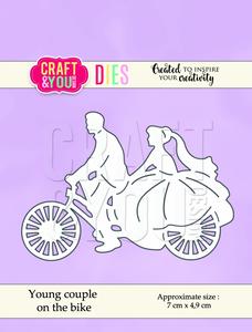 Bilde av Craft & You - Dies - CW053 - Young couple on the bike