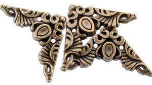 Bilde av Blumenthal - Steampunk Buttons - 1813 - Antique Gold Corner