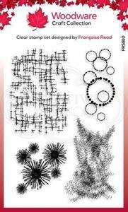 Bilde av Woodware - FRS810 - Clear stamp - Textures