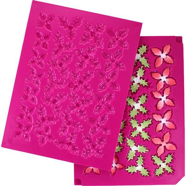 Heartfelt Creations - 3D Poinsettia - Shaping Mold
