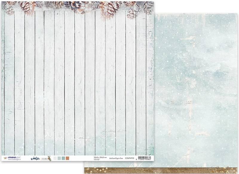Studiolight - 12x12 - ScrapWF02 - Winter Feelings 02