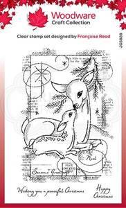 Bilde av Woodware - FRS828 - Clear stamp - Baby Deer