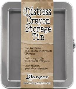 Bilde av Ranger - Tim Holtz - Distress Storage Tin (Embossing Glaze/Crayo