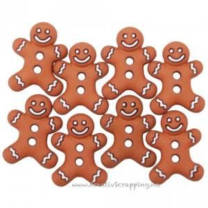 Bilde av Dress it up - Buttons - 5553 - Jul - Iced Cookies