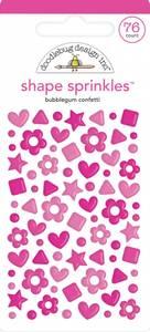 Bilde av Doodlebug - 6703 - Shape Sprinkles - Bubblegum