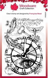 Bilde av Woodware - FRS830 - Clear stamp - Through Time