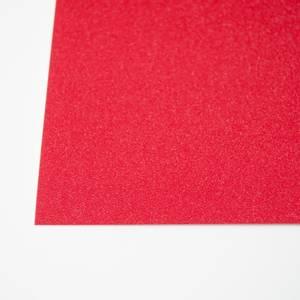 Bilde av Kort & Godt - Glitterkartong - GP210 - Rød