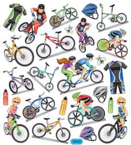 Bilde av Creotime - Stickers - 28875 - Sykler