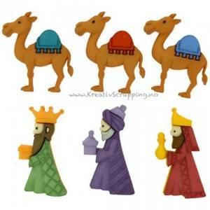 Bilde av Dress it up - Buttons - 8048 - Jul - WE 3 KINGS