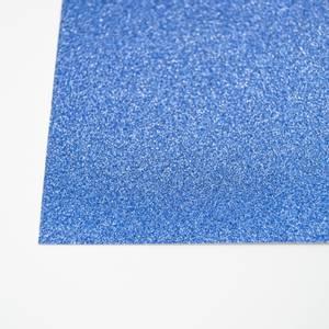 Bilde av Kort & Godt - Glitterkartong - GP205 - Blå