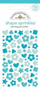 Bilde av Doodlebug - 6708 - Shape Sprinkles - Swimming Pool