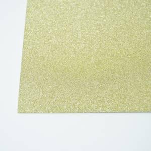 Bilde av Kort & Godt - Glitterkartong - GP203 - Gull