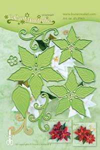 Bilde av Leane Creatief - 45.8961 - LeCrea Multi dies - Poinsettia