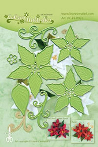 Leane Creatief - 45.8961 - LeCrea Multi dies - Poinsettia