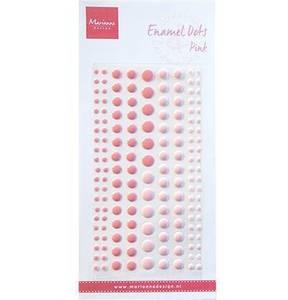 Bilde av Marianne Design - PL4517 - Enamel dots - Pink