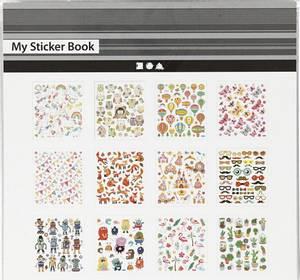 Bilde av Creotime - Stickers - 29163 - My Sticker Book - 12 ark