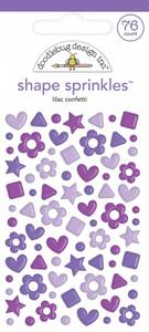 Bilde av Doodlebug - 6710 - Shape Sprinkles - Lilac