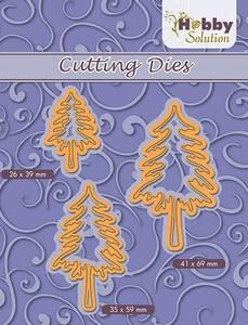 Bilde av Nellie Snellen - HSFD026 - Hobby Solution Dies - 3 Pine trees