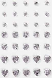 Bilde av Vivi Gade - Rhinstones - 6-10 mm - Round, Square, Heart - Sølv