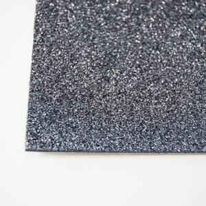 Bilde av Kort & Godt - FO223 - Mosegummi Glitter - Koksgrå