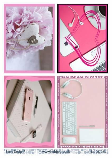 Barto Design - Klippeark A4 - 067983 - Girls konfirmation