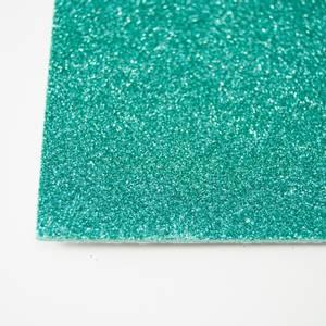 Bilde av Kort & Godt - FO222 - Mosegummi Glitter - Sjøgrønn