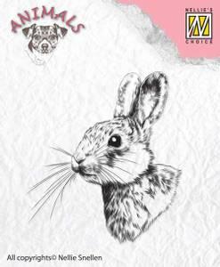 Bilde av Nellie Snellen - Clear Stamp - ANI015 - Rabbit 2