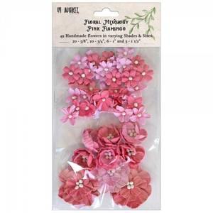 Bilde av 49 and Market - Floral Mixology Paper Flowers - Pink Flamingo
