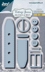 Bilde av Joy Crafts - 6002-1385 - Die - Buckle & Belt