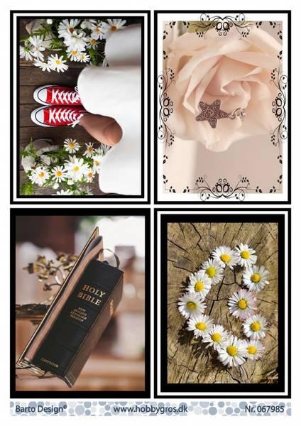 Barto Design - Klippeark A4 - 067985 - Wedding