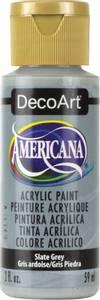 Bilde av Americana Acrylic Paint - Slate Grey - Opaque 2oz